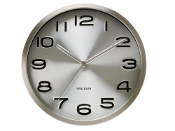 "12"" Steel Wall Clock"