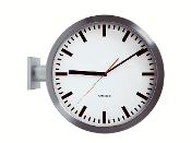 "Karlsson 11.5"" Double-Sided Wall Clock KA850551"